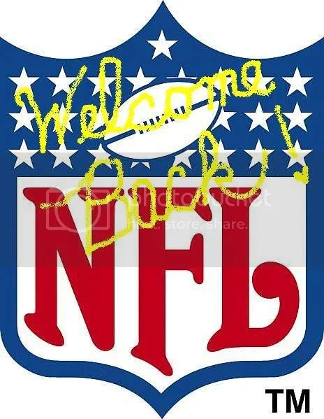 Welcome back, NFL! Thats my cursive writing!