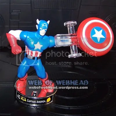 Captain America Attacktix