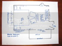 Master bedroom furniture placement...need advice quick!