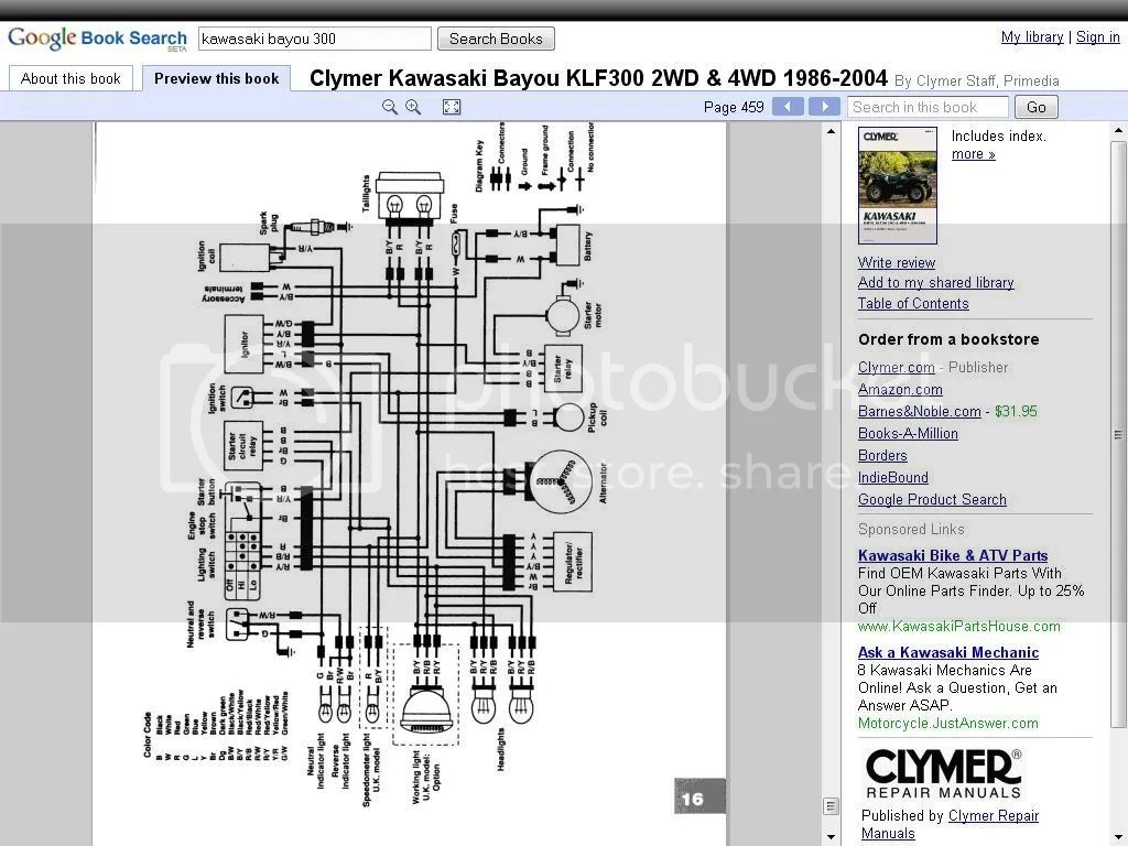 For Bayou 220 Starter Wiring Diagrams Wiring Diagram Bayou 300 1987 Page 3 Atvconnection Com