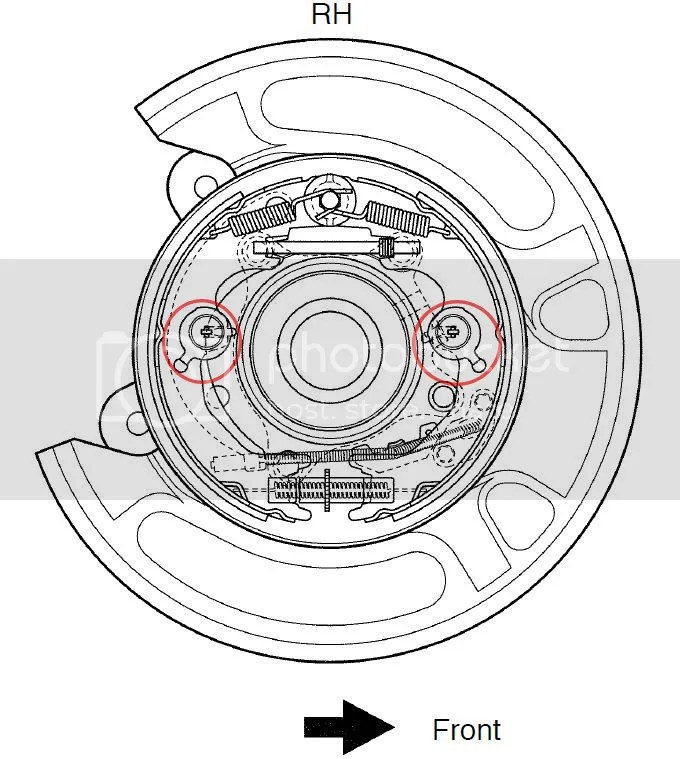 toyota engine parts diagram 2006 pontiac g6 radio wiring help to re-install the parking brake | ih8mud forum