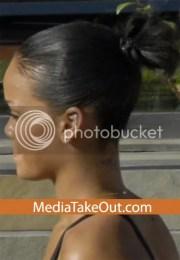 rihannas real hair with pics