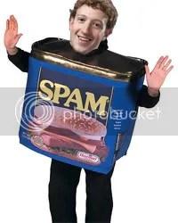 Facebook i spam