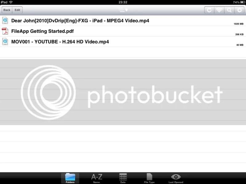 Film na iPadu
