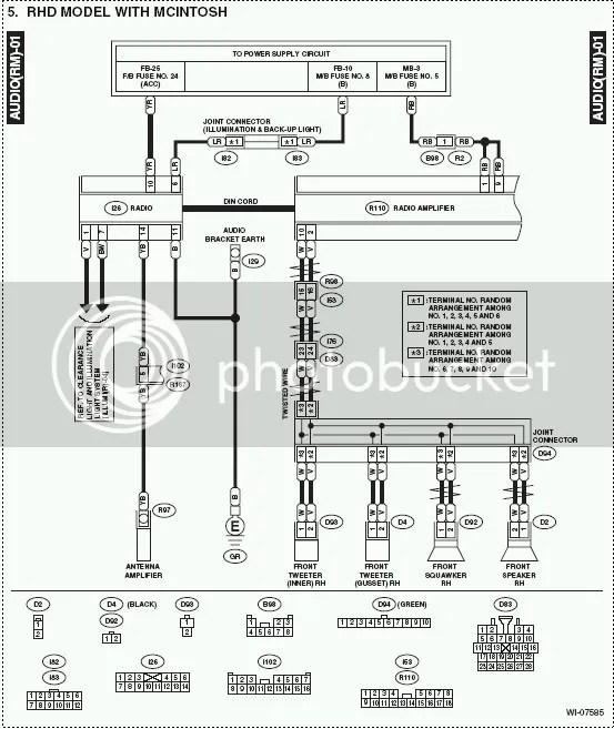 Wiring Diagram 2006 Subaru Legacy