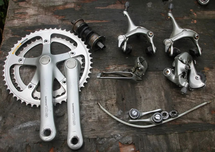 For Sale: Shimano 105 groupset c1990 and Campagnolo Victory groupsets | LFGSS