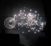 Fireworks over Amsterdam
