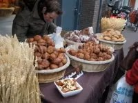 Oliebollen and Appelbeignets