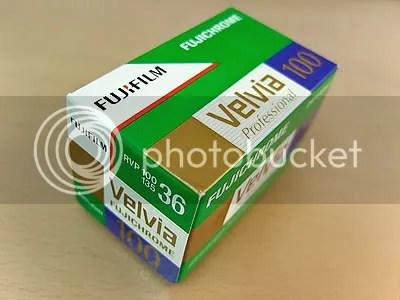 Fujifilm Velvia 100