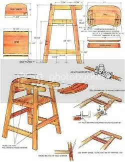woodworking plans for high chair