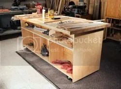Workbench Ideas For Your Shop