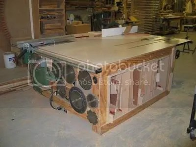 Cabinet Saw Outfeed Table