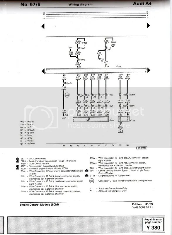 2008 Audi A4 Wiring Diagram Wiring Diagram Request From Ecu To Fuel Pump Relay