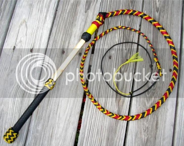 4ft Stockwhip: coral snake pattern