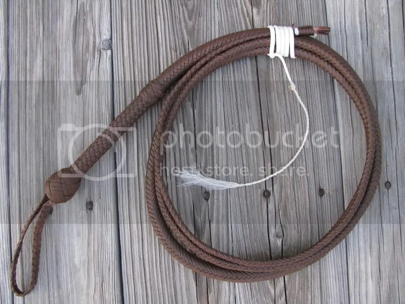 10ft Indiana Jones style bullwhip (8-1-2009)