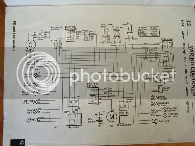 Husaberg 570 Wiring Diagram