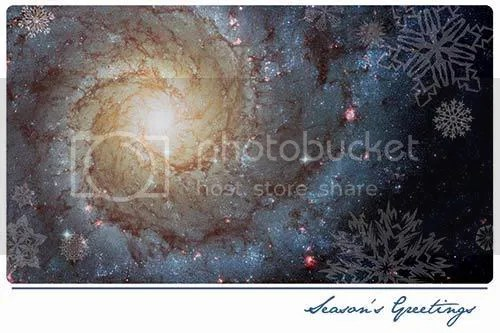 Seasons Greetings from the Hubble Space Telescope