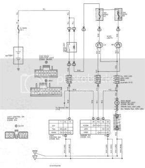 Wiring diagram for 93 toyota hilux surf