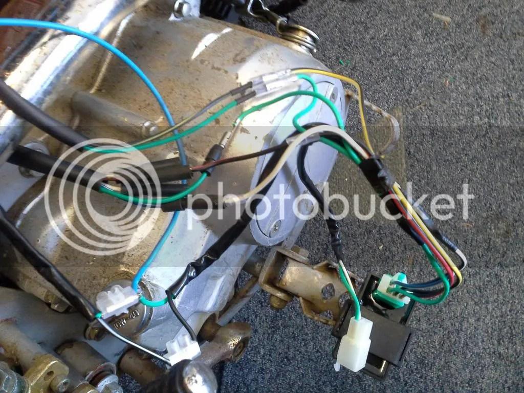 Pit Bike Stator Wiring Pit Bike Wiring Harness Diagram Honda 125 Dirt