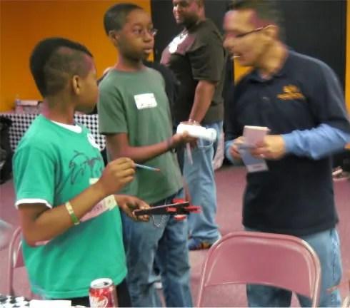 boys; youth; lock-in; church; crafts