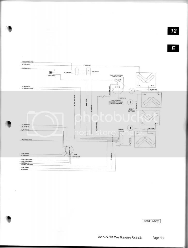 medium resolution of wiring diagram for a 2006 club car ds 06 club car ds wiring diagram