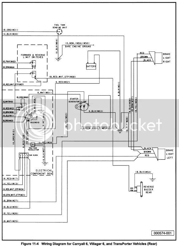 club car villager wiring diagram
