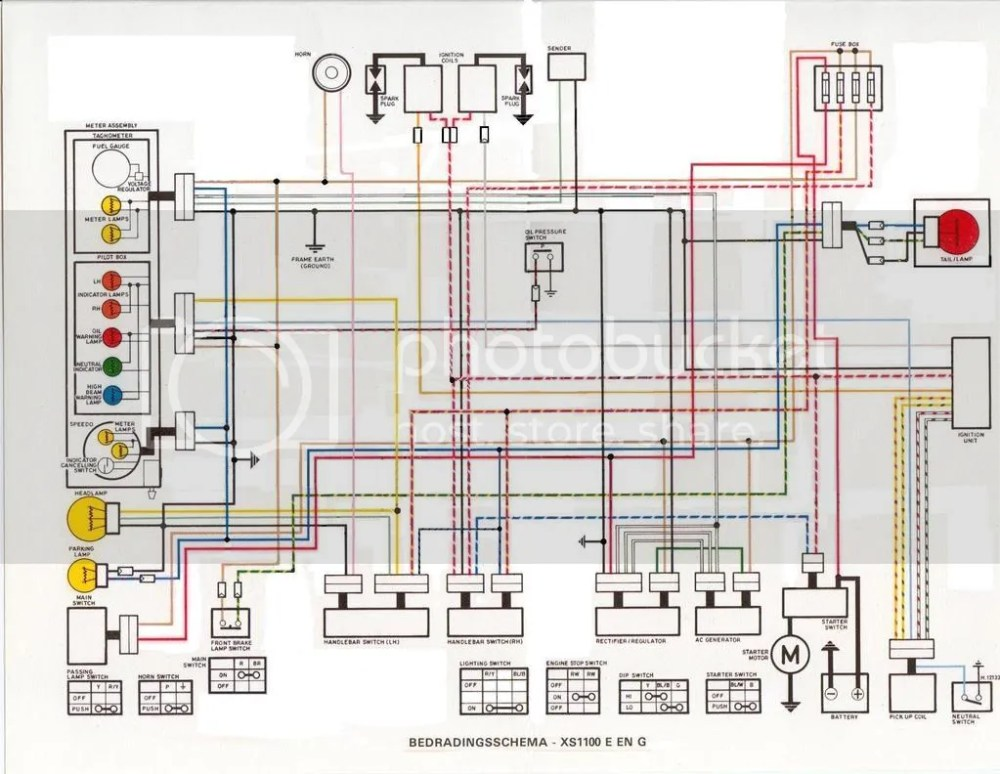 medium resolution of xs1100 wiring diagram