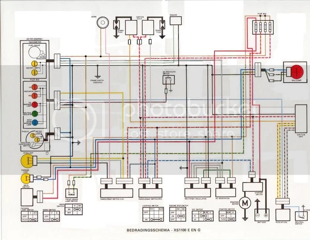 hight resolution of xs1100 wiring diagram