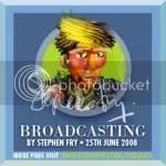 Stephen Fry's Podgram on Broadcasting