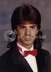 Ugly moustache man