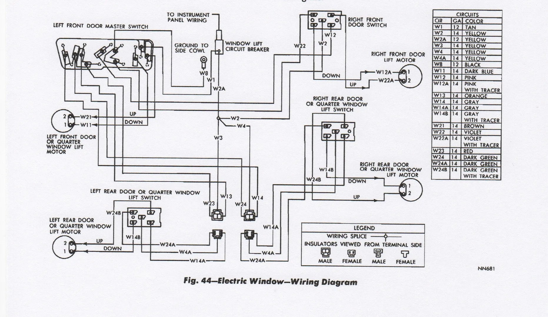 1968 Dodge Coronet Wiring Diagram Instrument Cluster
