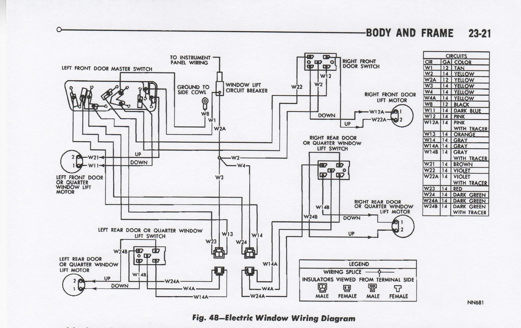 1973 Plymouth Duster Wiring Diagram, 1973, Free Engine