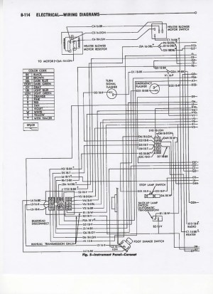 wire diagram for 67