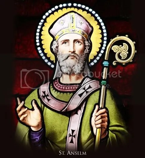 St. Anselm, this year's patron Saint