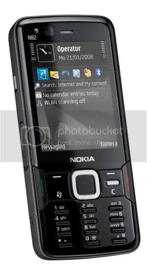 Nokia N82 in Black