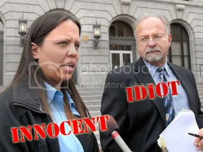 Jammie Thomas and her idiot lawyer