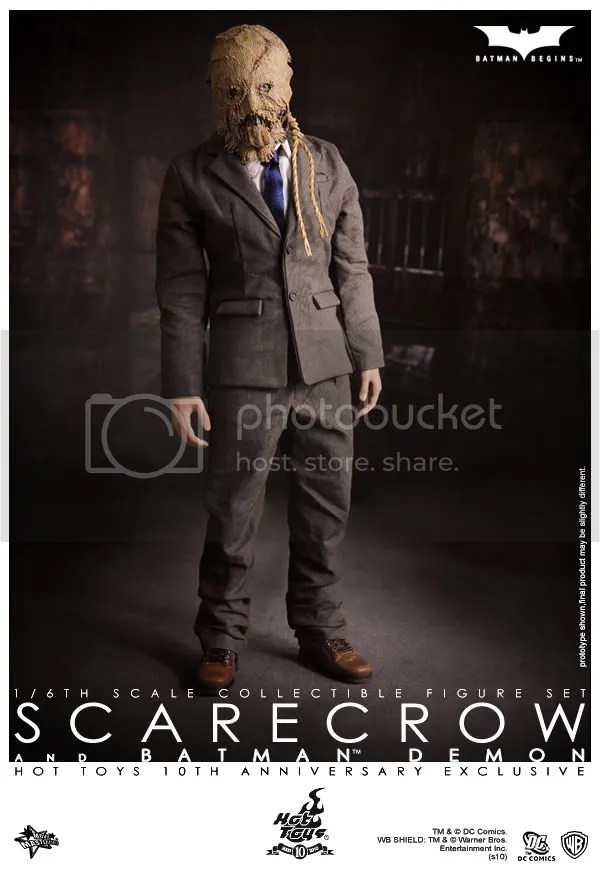 Hot Toys- Batman Begins:Batman Demon & Scarecrow spec and pics