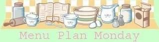 Menu Plan for Week Beginning 2nd July 2012