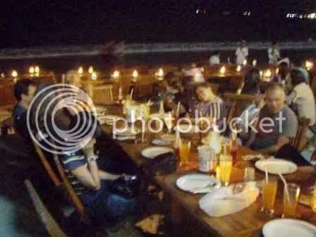 dinner di jimbara