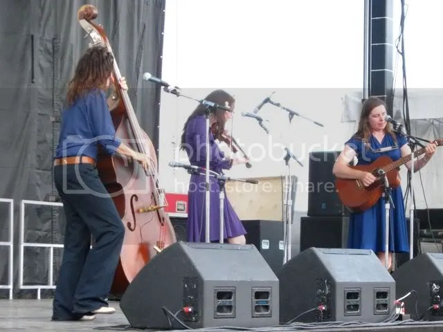Maybelles at Grey Fox Bluegrass Festival, July 16, 09