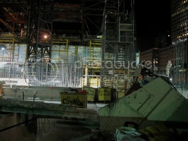 Ground Zero in June 2009 night