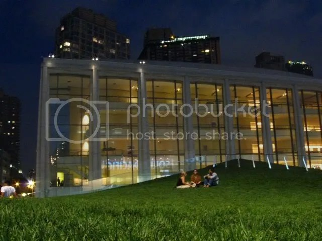 roof lawn at Lincoln Center