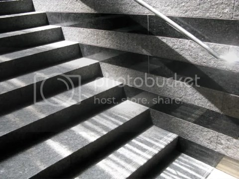 Stairs, shadows -- SFMOMA
