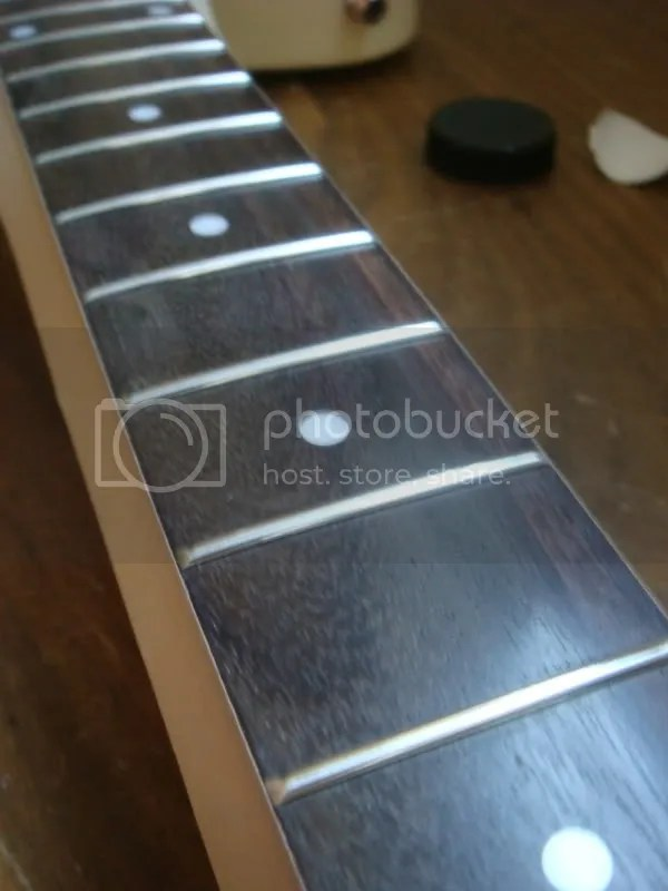 How To Stain Rosewood Fretboard