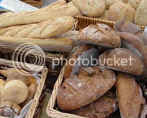 Eugene City Bakery bread baskets