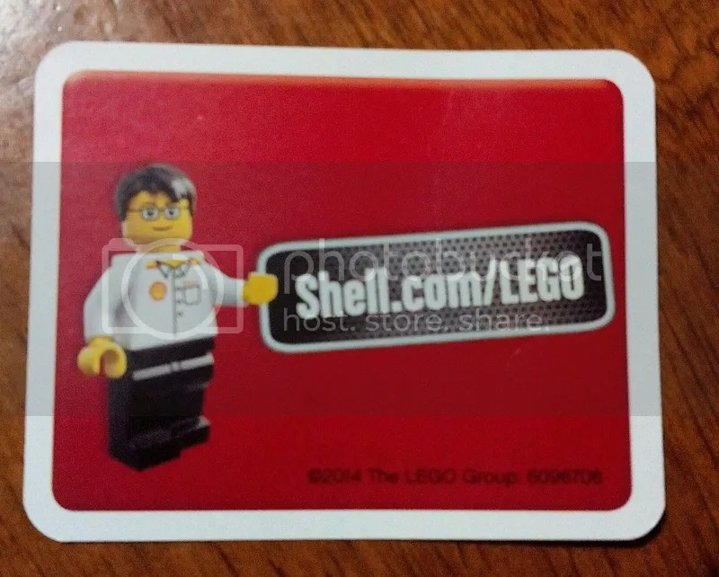 Legos from Shell in 2016?