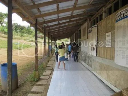 Goat breeding area.
