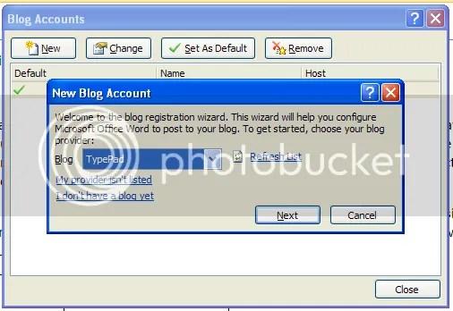 Yes, Typepad is among MS Word 2007s blog list.