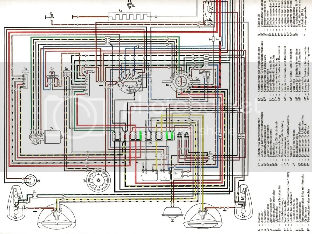 hight resolution of 1974 vw beetle fuse box wiring diagram 1974 beetle fuse box for