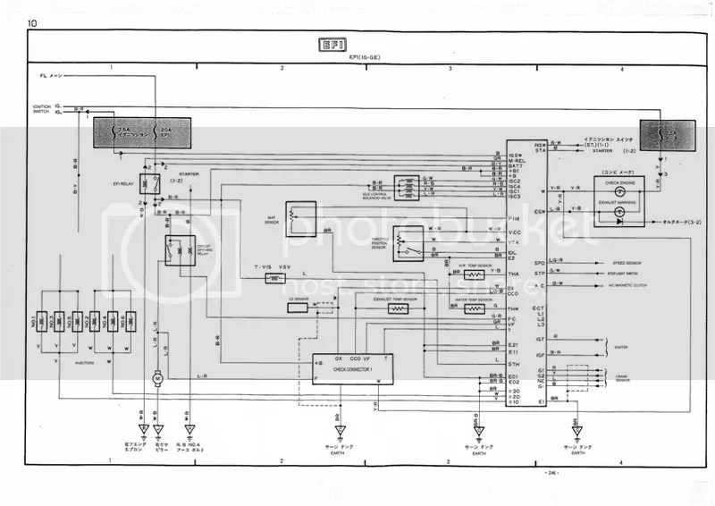 1G-GE Gen2 wiring Diagrams
